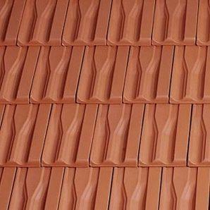 Керамічна черепиця бічна права Tondach Танго плюс Угорщина 300х500 мм мідно-коричнева