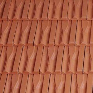 Керамическая черепица боковая левая Tondach Танго плюс Венгрия 300х500 мм медно-коричневая