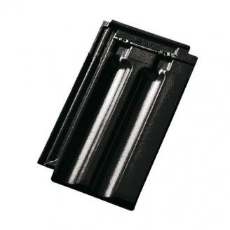 Черепиця керамічна Tondach Французька Чехія 277х465 мм чорна