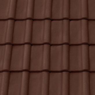 Черепица керамическая вентиляционная Tondach Румба Венгрия 300х500 мм коричневая