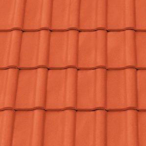 Керамічна черепиця крайня права Tondach Румба Угорщина 300х500 мм червона