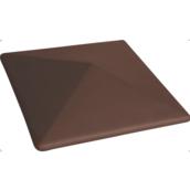 Крышка на забор King Klinker 310х445х90 мм коричневая