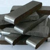 Шпонка стальная ст.45 6х6 мм