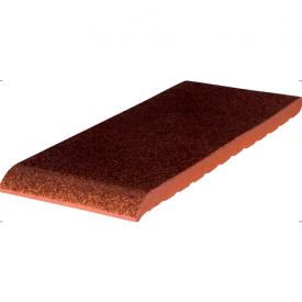 Підвіконня клінкерна King Klinker 220*120*15 мм коричневе глазуроване
