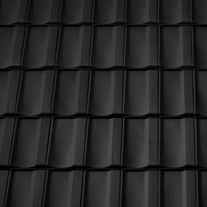 Керамічна бічна права черепиця Tondach Болеро Угорщина 300х500 мм чорна