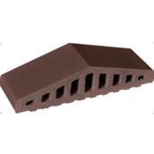 Профильный кирпич King Klinker КО 180х120х100х58 мм коричневый