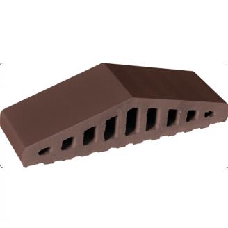 Профильный кирпич King Klinker КО 310*250*100*78 мм коричневый