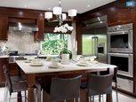 Красивий інтер'єр кухні