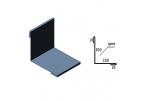 Планка внутреннего угла САВ ПВУ-01 полиэстр матовый 2000х220 мм