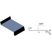 Планка віконного відливу САВ ПКО-01 цинк 2000 мм