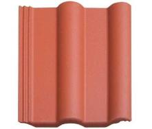 Цементно-песчаная черепица оранжевая
