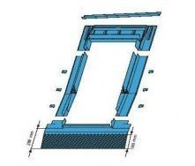 Оклад Roto EDR HZI для высокопрофильных покрытий 54х78 см