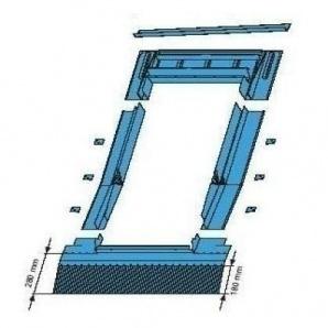 Оклад Roto EDR HZI для високопрофільних покриттів 74х140 см