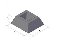 Фундамент панели ограждения ФЗП 1-1