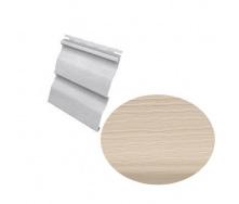 Сайдинг виниловый Royal Europa Grandform sand с двойным изломом