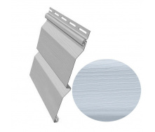 Сайдинг виниловый Royal Europa Royal Crest blue gray 3710*262,9 мм