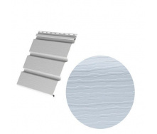 Виниловый сайдинг Royal Europa Royal Soffit blue gray 3660*340 мм