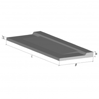 Консольна балконна плита ПБК 33.12-5а