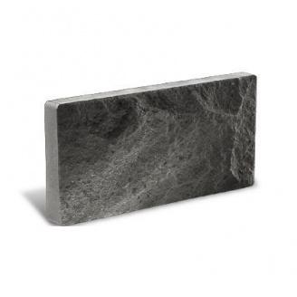 Облицовочный кирпич Литос Цокольный 250*18*100 мм серый