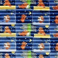 Плиссированная штора Roto ZFA 54х98 см голубая детская F-161