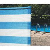 Сетка затеняющая Tenax Солеадо 2x50 м бело-голубая