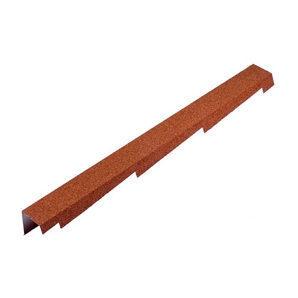 Торцевая планка Metrotile BBCP 1250x100 мм красная