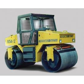 Аренда дорожного катка Vibromax W 854 2 8 т