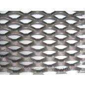 Сітка просічно-витяжна 40х15х0,6 мм