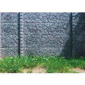 Монтаж бетонного забора Мрамор из бетона