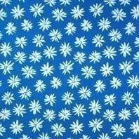 Солнцезащитная штора Roto Exclusiv ZRE 74х140 см голубые маргаритки A-208