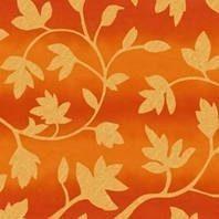 Солнцезащитная штора Roto Exclusiv ZRE 94х140 см оранжевые цветы A-206