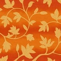 Солнцезащитная штора Roto Exclusiv ZRE 74х140 см оранжевые цветы A-206