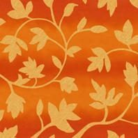 Солнцезащитная штора Roto Exclusiv ZRE 65х140 см оранжевые цветы A-206