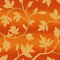 Солнцезащитная штора Roto Exclusiv ZRE 65х118 см оранжевые цветы A-206