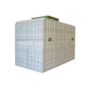 Автономная канализация ТОПОЛ-ЭКО ТОПАС 75 Пр 4,16x2,2x3,0 м