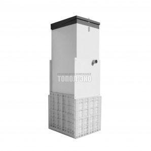 Автономная канализация ТОПОЛ-ЭКО ТОПАС 5 Long Пр 1,1x1,2x3,1 м