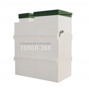 Автономная канализация ТОПОЛ-ЭКО ТОПАС 15 2,1x1,2x2,5 м