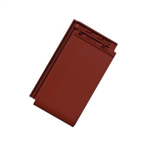 Черепица керамическая Tondach Фигаро Делюкс Австрия 424х241 мм красная