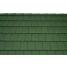 Черепица керамическая Tondach Фигаро Делюкс Австрия 424х241 мм темно-зеленая