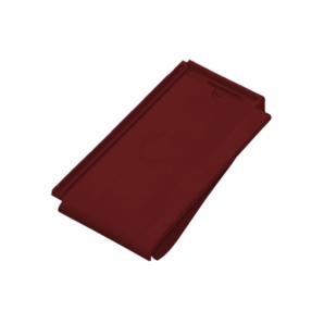 Черепица керамическая боковая правая Tondach Фигаро Делюкс Австрия 424х241 мм натур