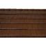 Черепица керамическая боковая правая Tondach Фигаро Делюкс Австрия 424х241 мм коричневая