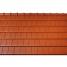 Черепица керамическая боковая правая Tondach Фигаро Делюкс Австрия 424х241 мм красная