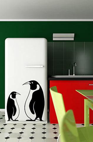 Декорация холодильника