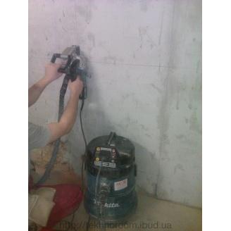 Алмазная резка бетонных стен без пыли