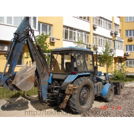 Послуги екскаватора-навантажувача Borex EO 2202