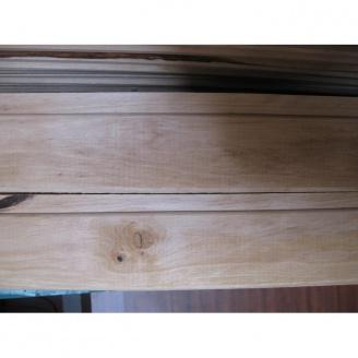 Вагонка з вільхи вищий сорт 15*80 мм 2 м