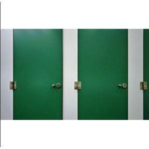 Сантехническая перегородка Века Буд Премиум 2000х1200х900 мм зеленая