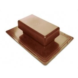 Аэратор Tegola Специальный 25 м2 коричневый