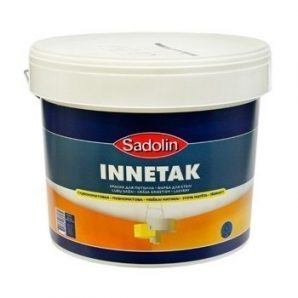 Краска для потолка Sadolin Sadolin Innetak 2,5 л белая
