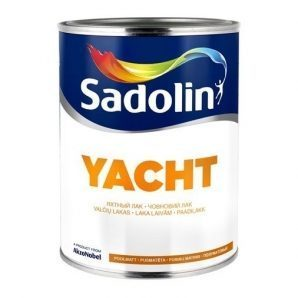 Лак для паркета Sadolin Parquet 90 2.5 л белый